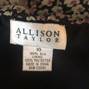Allison Taylor Dresses - Allison Taylor Silk Halter Dress